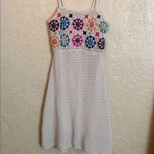 Knit hippie dress